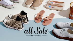 15% Off for New Customers at allsole.com