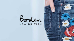 vouchercloud Recommends! Up to 50% Off Orders in the Sale at Boden