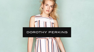 Enjoy 30% Off in the Fashion Event at Dorothy Perkins