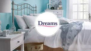 Up to 50% off in the Big Sleep Event at Dreams Beds