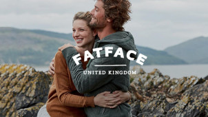Free Delivery on Orders Over £60 Plus Free Returns at Fat Face