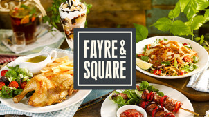£5 Off When You Spend £15 at Fayre & Square