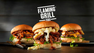 30% Off Mains at Flaming Grill