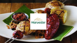 2 Chicken or Combo Dishes and 2 Drinks for £20at Harvester