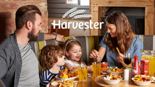 Kids Eat for £1 at Harvester