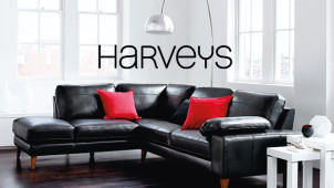 Delivery from £15 at Harveys Furniture Store