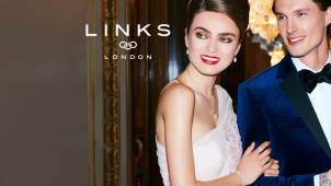 Buy one & get the second half price on all items in the summer Shine Edit at Links of London