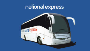 One Way Fares from £5 on Selected Routes at National Express