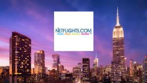 Worldwide Flights from £85 Per Person at Netflights