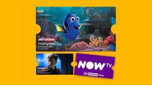 Free 14 Day Sky Cinema Trial Plus £10 Retail Voucher with £9.99 Pass at NOW TV