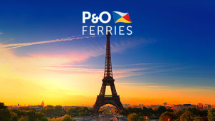5 Day Return for £74 on Selected Bookings at P&O Ferries