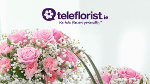 Flowers from €25.95 at teleflorist.ie