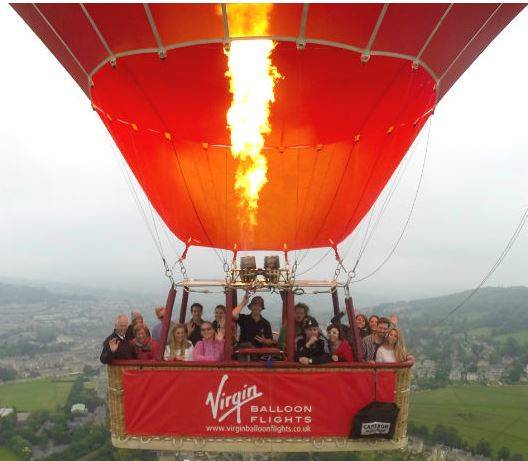 Up, Up and Away – Virgin Balloon Flights Review