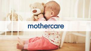Up to 50% off in the Mothercare Home Event at Mothercare