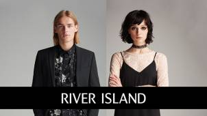 Up to 50% off in the Mid Season Sale at River Island